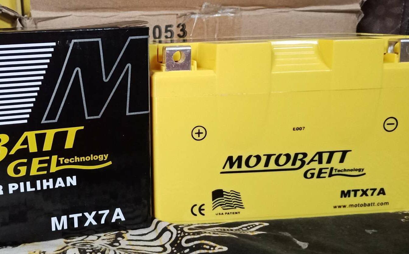 Jual Aki Motor Motobatt Termurah Accu Kering Untuk Supra Satria F Vario Beat Mtx7a Yuasa Ytx9 Ninja 250r Karbu Piaggio Zip