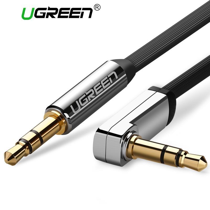 UGREEN 1Meter AUX Cable Jack 3.5mm Audio Cable 3.5 mm Jack Speaker Cable for JBL Headphones Car Xiaomi redmi 5 plus Oneplus 5t AUX Cord
