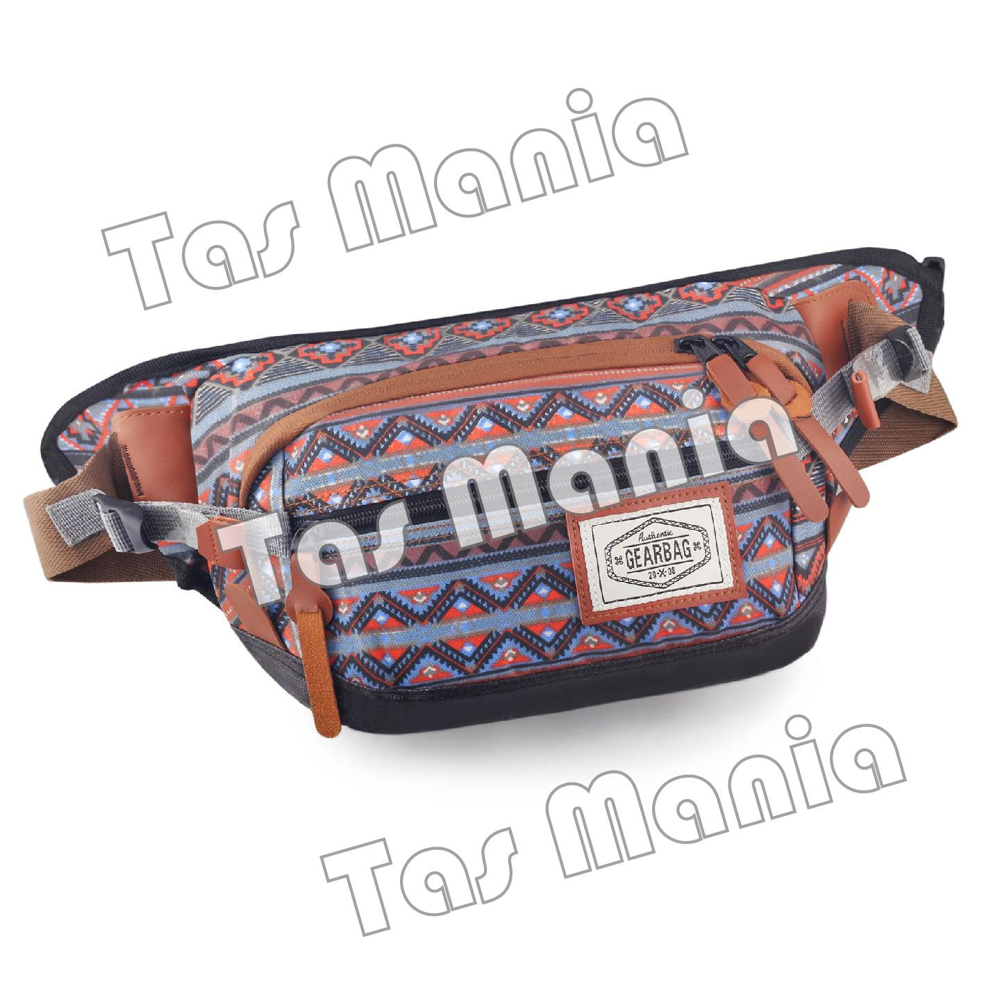 Buy Sell Cheapest Tas Selempang Groovy Best Quality Product Deals Slimpang Pria Distro Gear Bag Apache Native Pattern Waistbag Pinggang Messenger Slempang Korea Never Ink Crossbody Man Sling