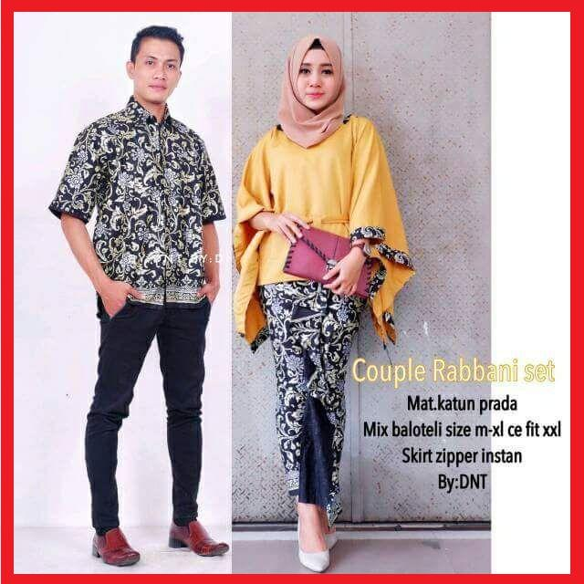 Batik Couple / Couple Batik / Batik Sarimbit Rabani