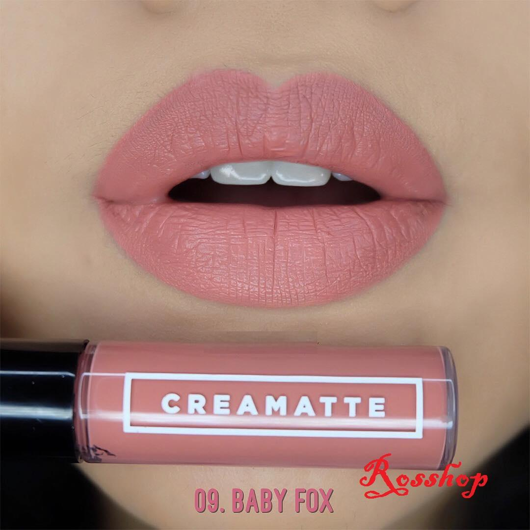 Makeup Emina Cheek Lit Cream Blush Creamatte Lip 09 Baby Fox