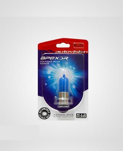 Lampu Motor Halogen Autovision M5 12V 36W Matik Bebek