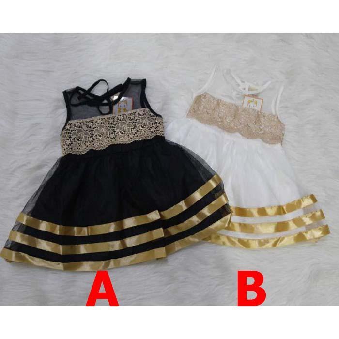 Baju Bayi Perempuan Baju Gaun Pesta Kondangan Dress Farah