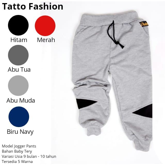 Celana Jogger Pants Anak By Tatto Fashion.