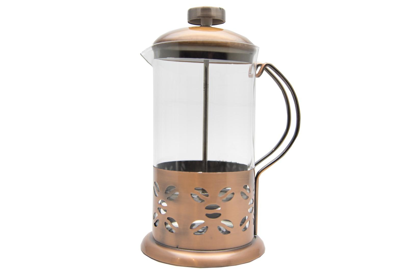 French Press Tea/Coffee Plunger Stainless 600 Ml WLD600