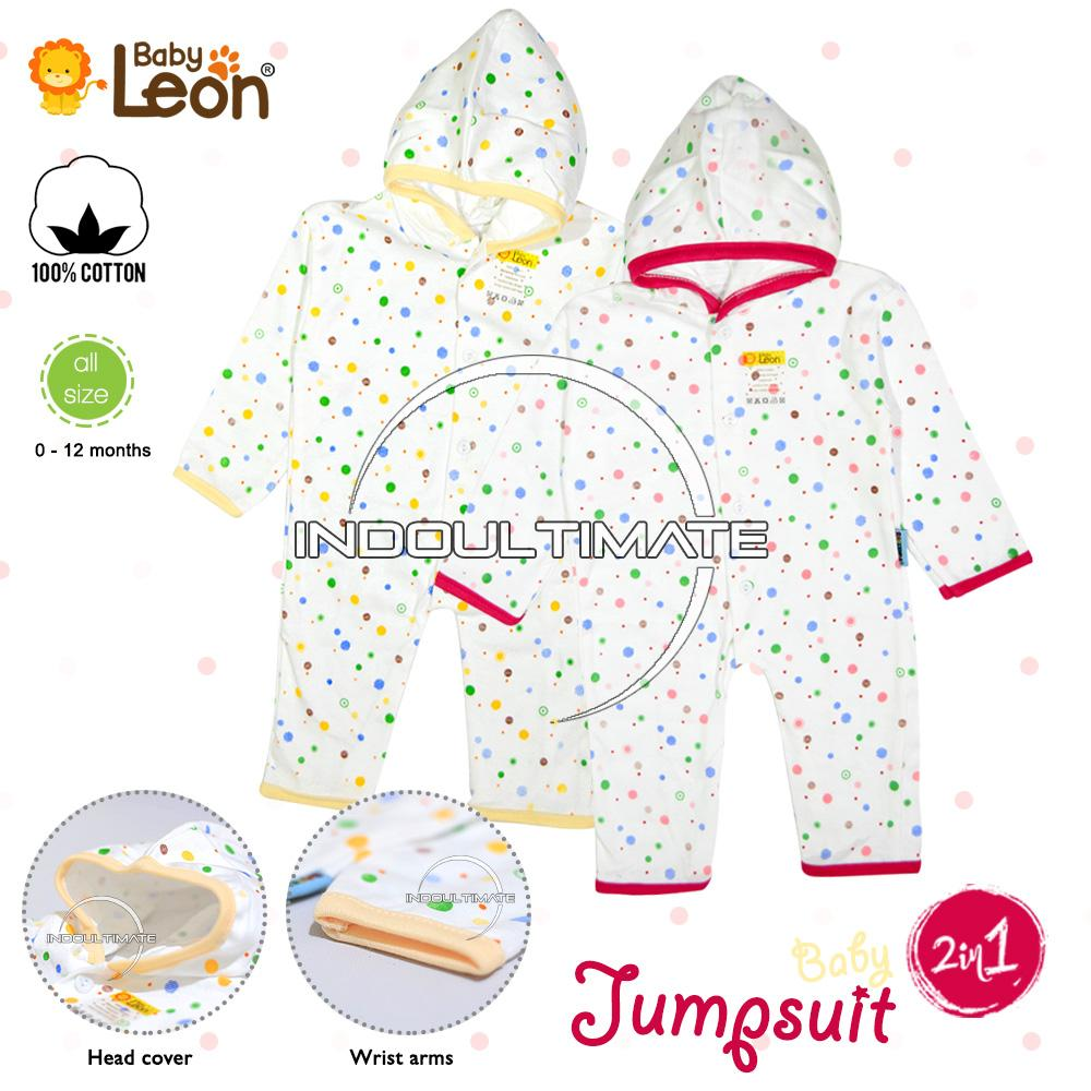 Pakaian Bayi 2 in 1 / Baju Bayi Full Body Katun NEW BORN 100% catton