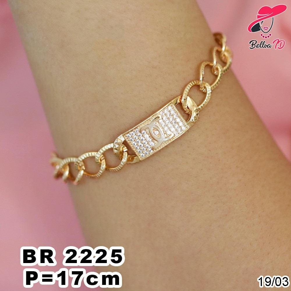 Gelang Rantai Xuping Chanel Gold R 2225