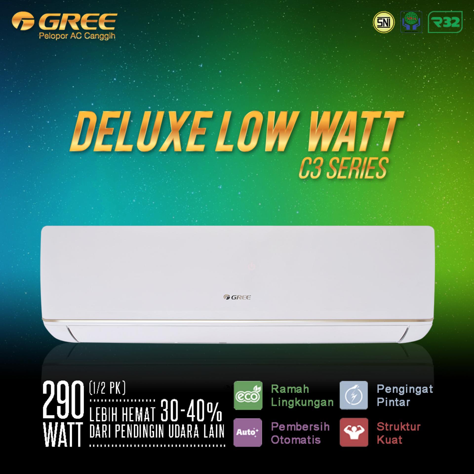 AC GREE 24C3 - Deluxe Low Watt Series (2.5PK) - Unit Only