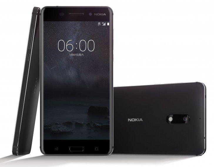 NOKIA 6 BLACK MATE RAM 4GB / ROM 64GB