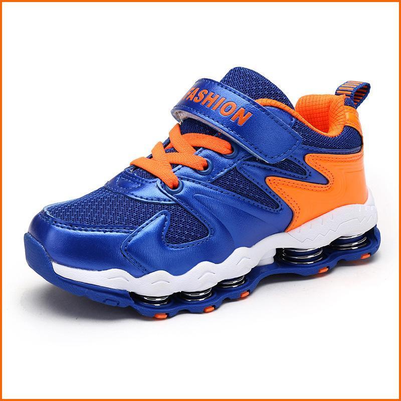 Anak-anak Fashion Berkualitas Tinggi Musim Semi Cushion Sneakers Olahraga Outdoors Boys Sport Menjalankan Sepatu