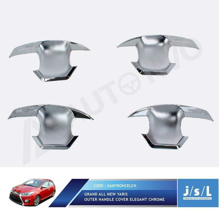 All New Yaris Outer Handle Cover Elegant Chrome/aksesoris Toyota Yaris By Ayonis.