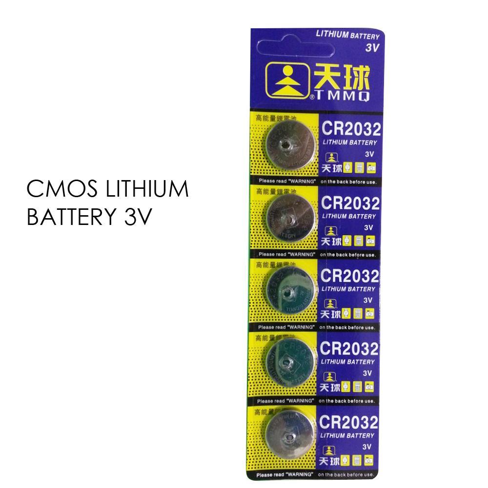 Katalog Baterai Cmos Laptop Acer Termurah Labtop Cr 2032 Kabel Lithium Battery Cr2032 Isi 5pcs 1 Strip