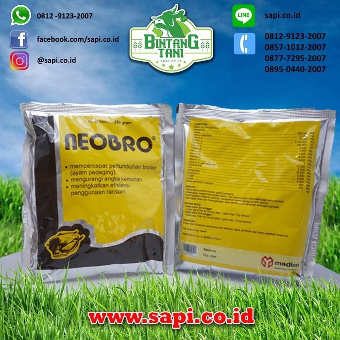 Neobro 100gr - Vitamin Penggemuk Ayam Potong / Broiler