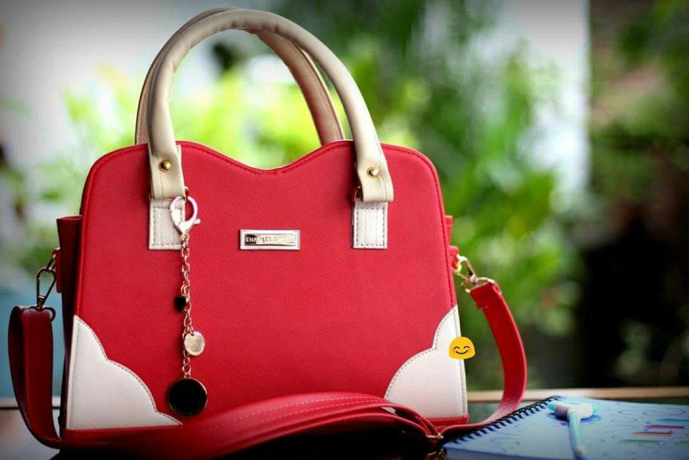 Tas Wanita Cloudy Merah di lapak HS Grosir Tas Murah p25