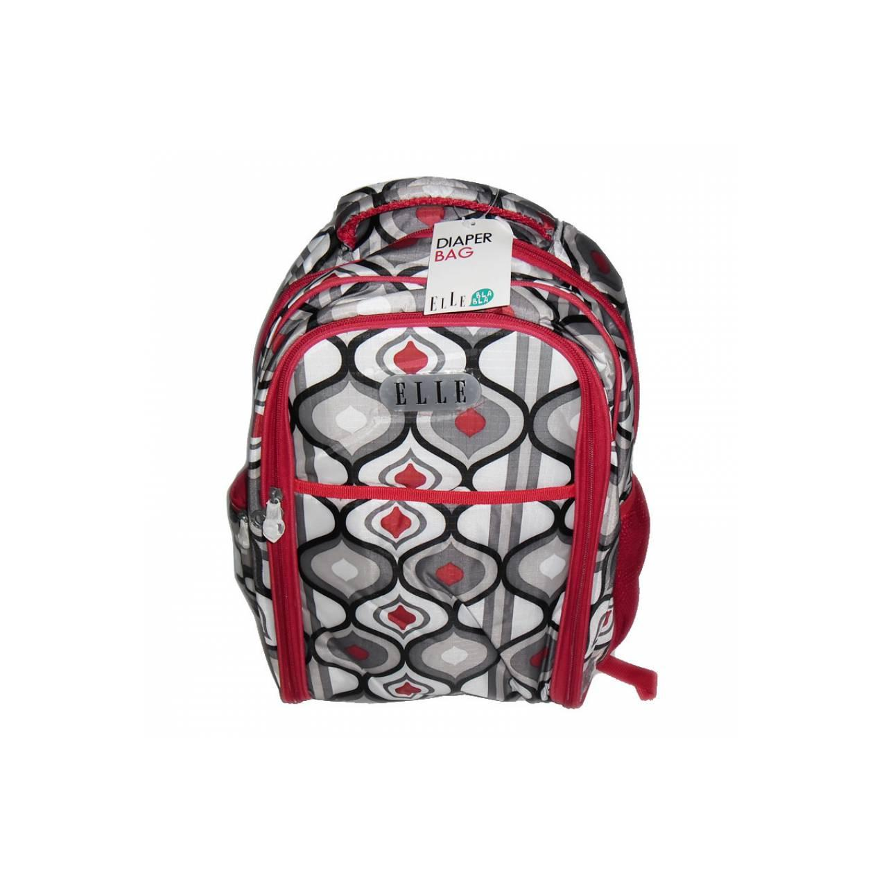 Buy Sell Cheapest Elle Tribal Backpack Best Quality Product Deals Achilles 83822 41 Plum Diaper 1546 Red