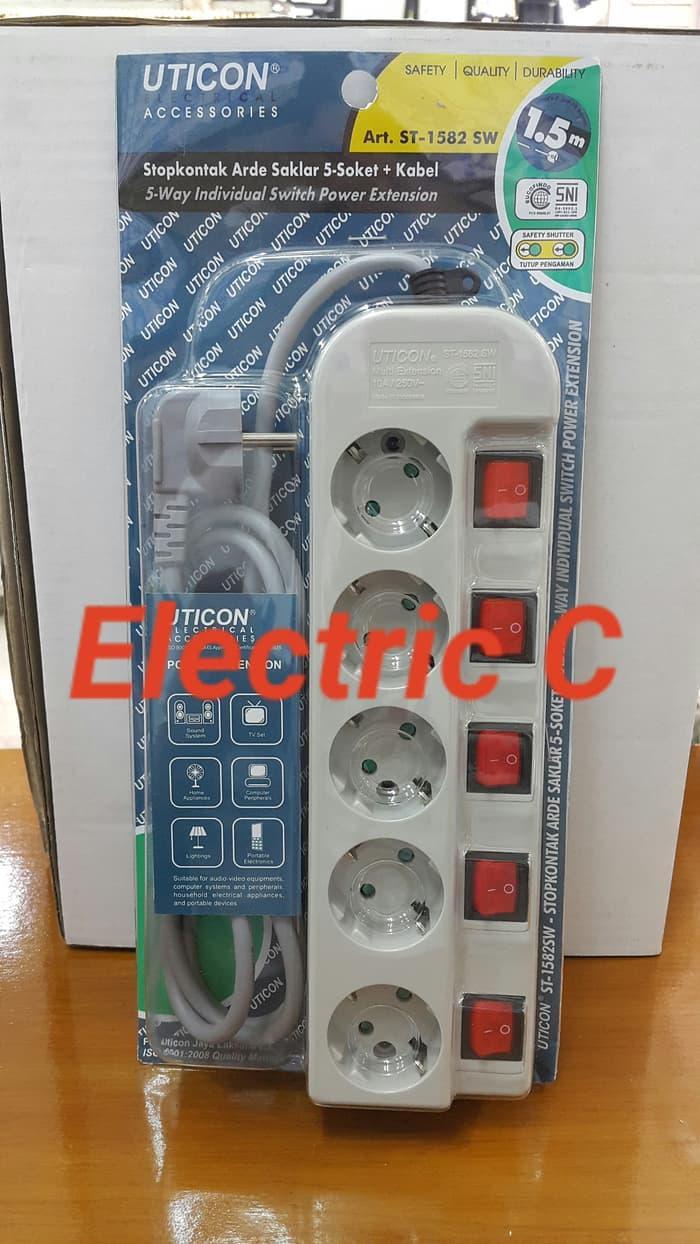 Beli Stop Kontak Dan Saklar Seri Wejp11312 7 2 X Wej5531 Panasonic Produk Laris Uticon 5 Lubangsaklar Masing2st