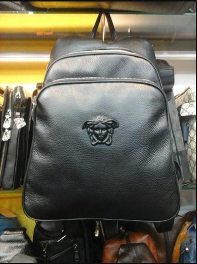 VERSACE BACKPACK KULIT ASLI