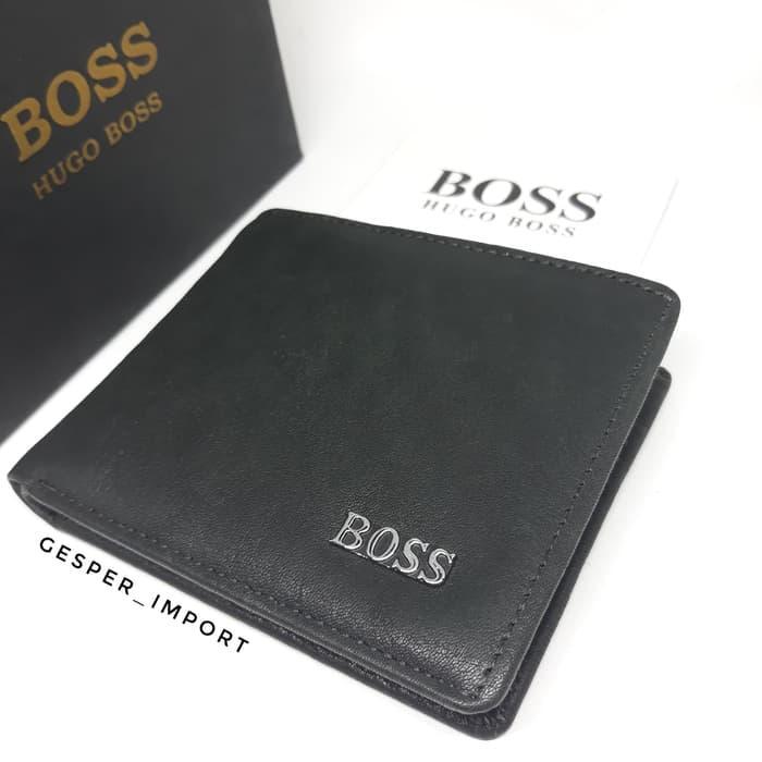PROMO - Dompet Pria Boss Kulit Asli Import - ready stock