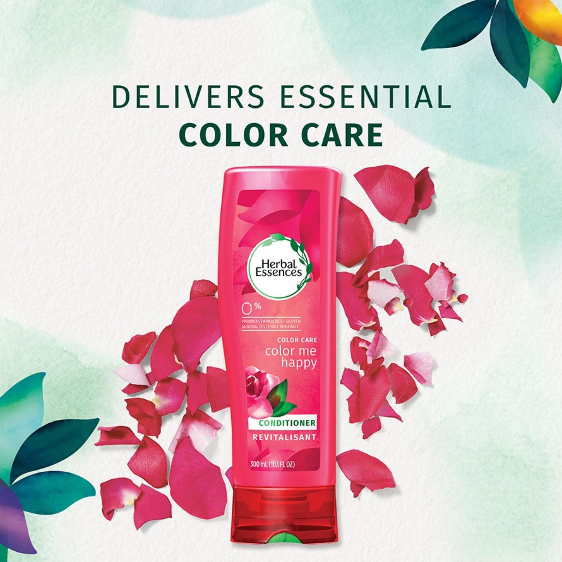 Herbal Essence Sabun Rose Kecil Essences Color Me Happy Conditioner 300ml Made In Usa Untuk Rambut Dicat
