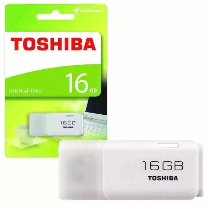 Flashdisk USB Flash Drive Toshiba 16 giga / flasdis flasdisk flesdis flesdisk fleshdisk
