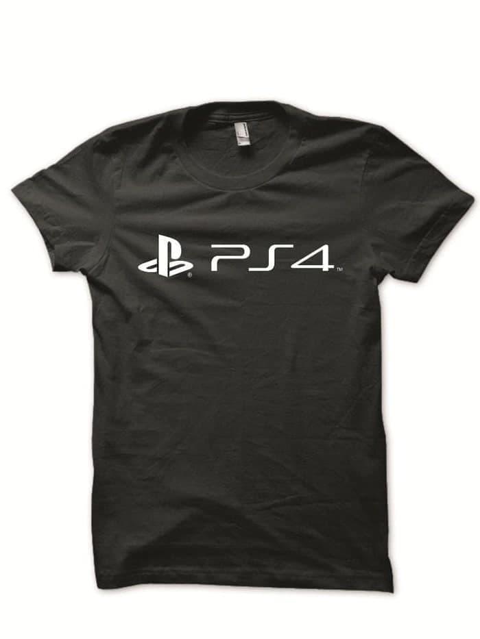 PROMO - Kaos T Shirt Distro Ps4 Play Station 4 High Quality