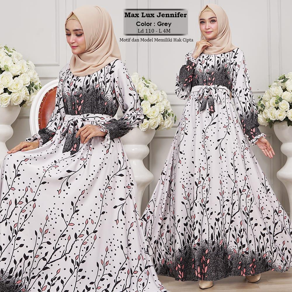 Humaira99 Gamis Syari Muslim Busui Dress Hijab Muslimah Atasan Wanita Longdress Jennifer