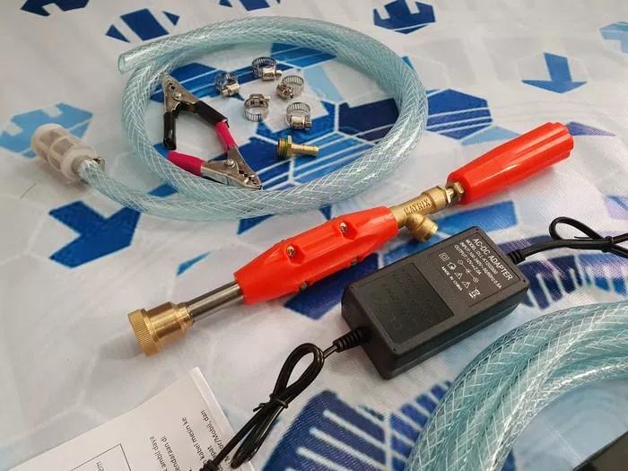 Alat cuci mobil motor AC doorsmeer mini otomatis 120 psi