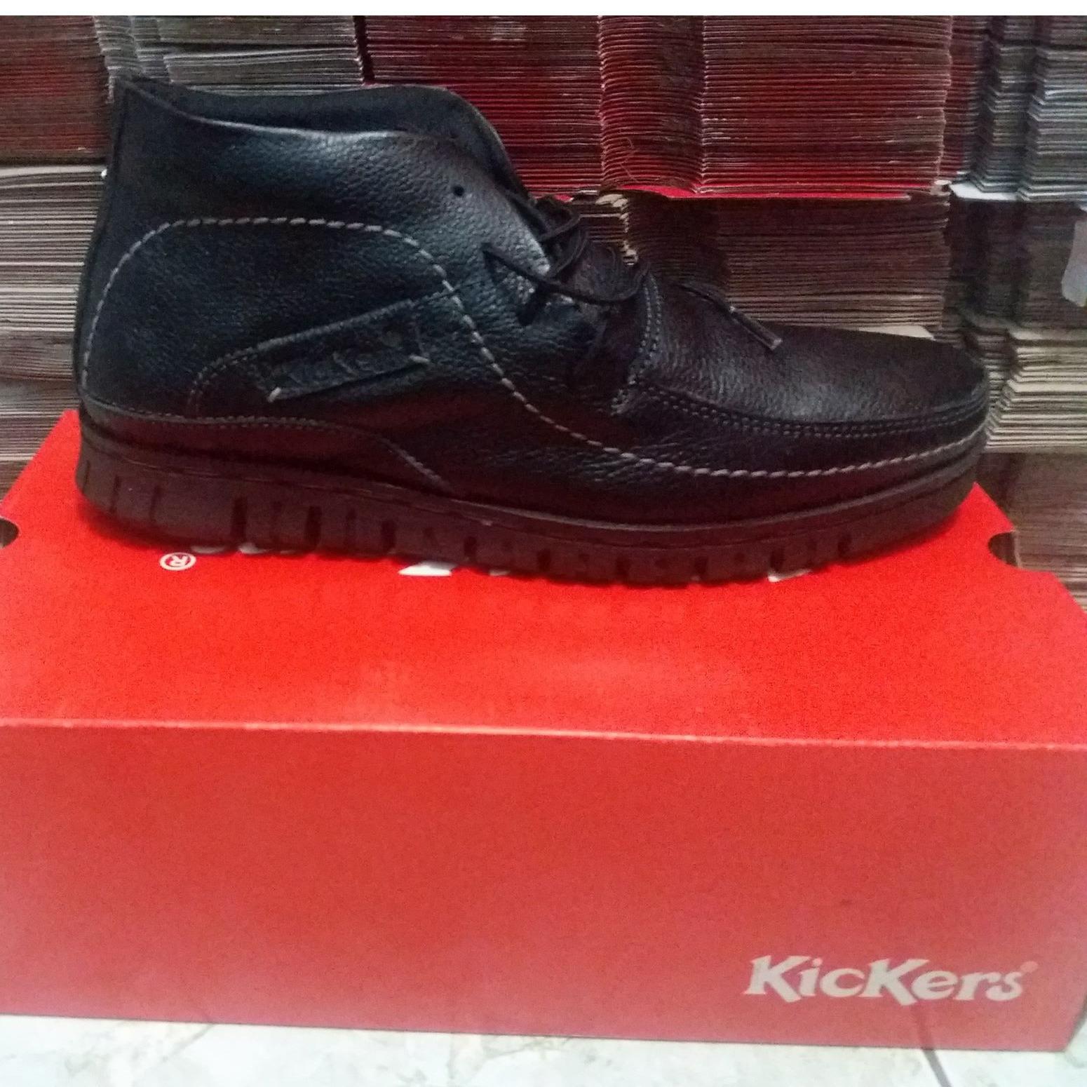 Ubercaren 0012 Brown Daftar Harga Terbaru Dan Terupdate Indonesia 0014 Blue Sepatu Boot Pria Boots Kulit Model Kickers