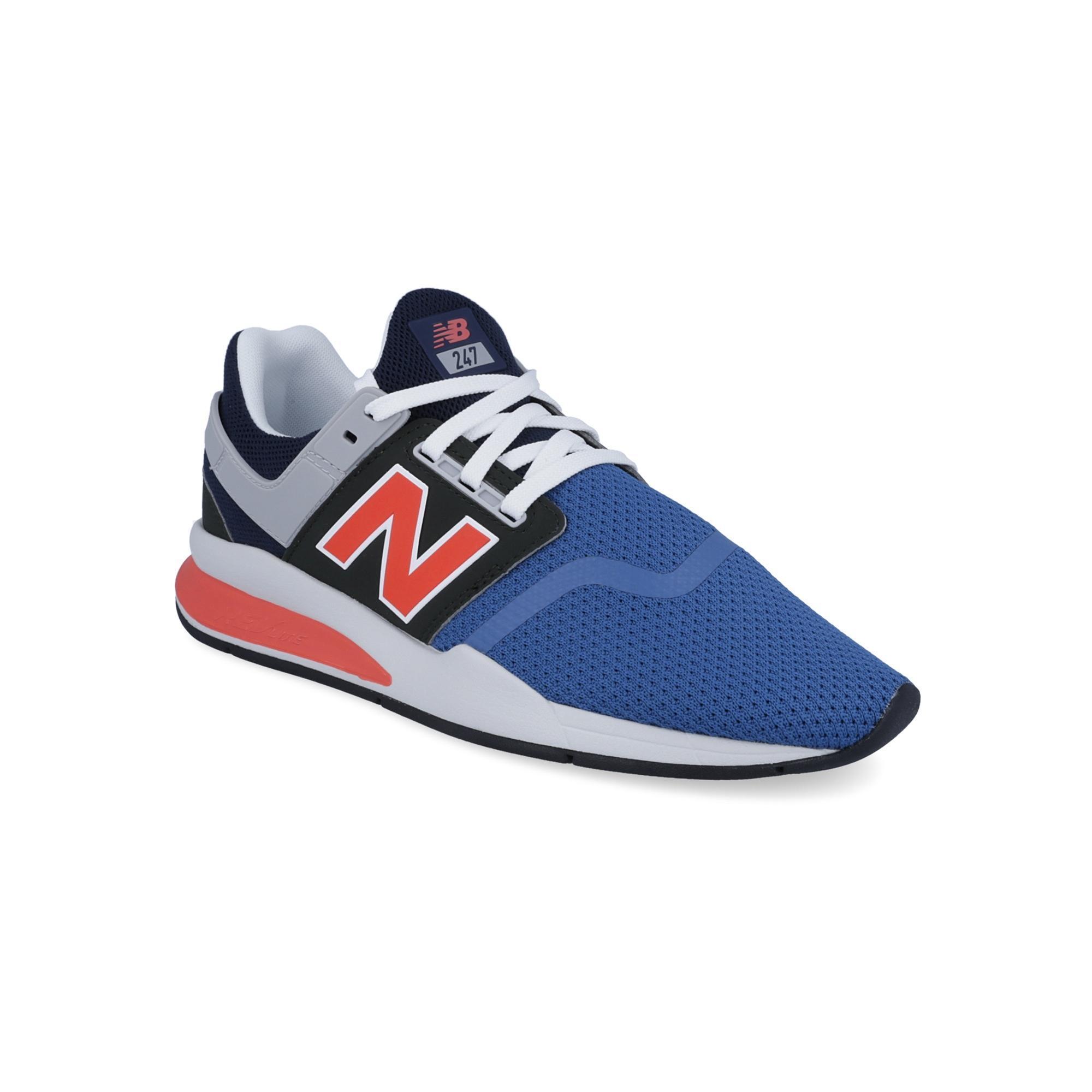 New Balance 247V2 J Crew Sepatu Olahraga Pria - Biru