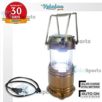 Pencarian Termurah Maxxio Lampu Camping Lampu Emergency Solar Panel 3 Way harga penawaran - Hanya Rp22.605