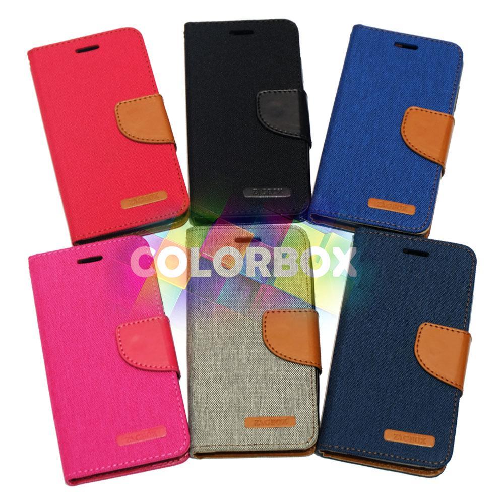 Aimi Ume Canvas Diary Smartfren Andromax L Flipshell Sarung Case dompet andromax L Leather Case /