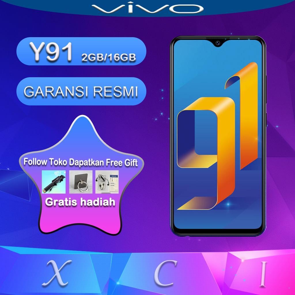 Vivo Y91 2GB/16GB - Pembukaan dengan Sidik Jari  AI Dual Camera