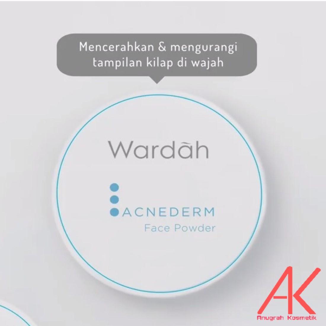 Wardah AcneDerm Facr Powder 20gr (Bedak untuk Kulit Berjerawat)
