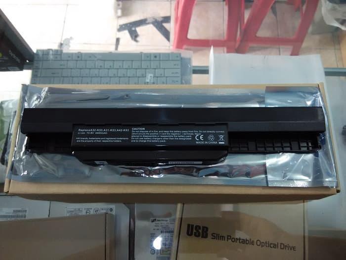 SALE - Baterai Laptop ASUS A43 A43E A43S K43U X44 X44H ORIGINAL OEM Original