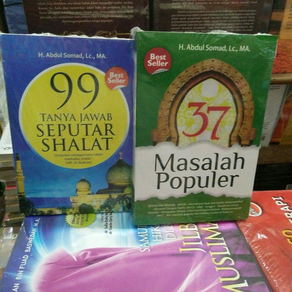 Buku Bestseller Abdul Somad 37 Masalah Populer Dan 99 Tanya Jawab Seputar Sholat Rama Store By Ramastore.