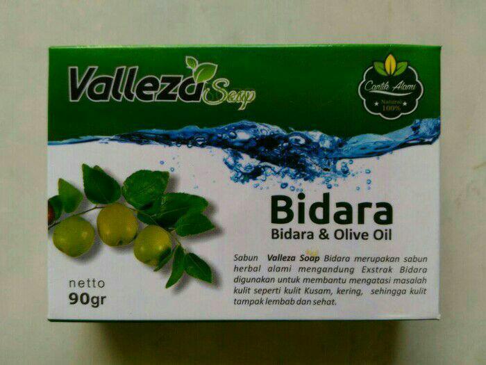 Sabun Bidara Valleza gratis - 2 caset jahe merah