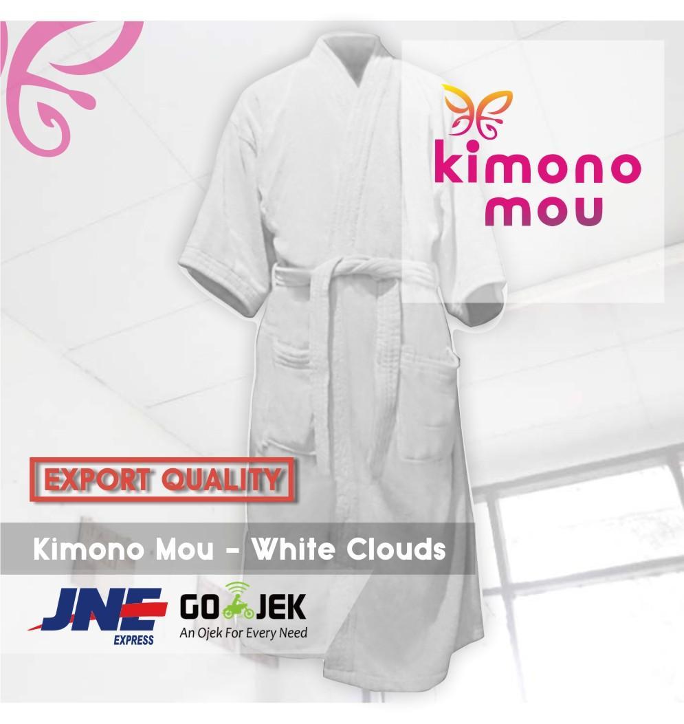 Handuk Kimono All size - Kimono Mou - Hotel - Benang double (tebal)