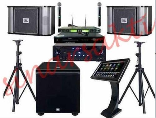 Paket Sound System JBL DVD Karaoke Geisler ORIGINAL