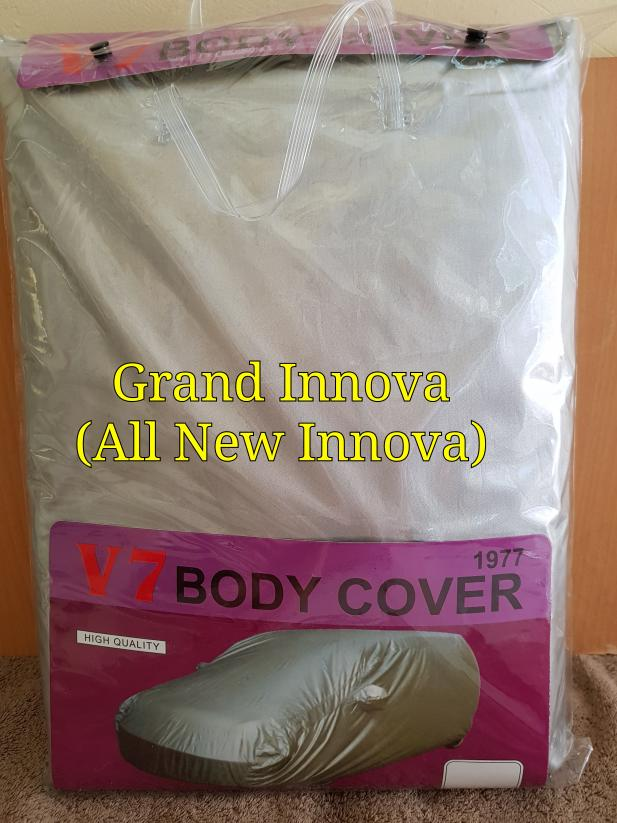 Grand Innova Sarung Mobil-Grand Innova Silver Coating Bodycover Mobil