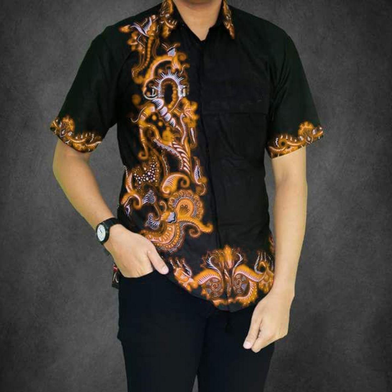 Pakaian Pria Model Kemeja Batik Pria Kemeja Batik Pekalongan Baju Batik Cowok Baju Batik Kantor