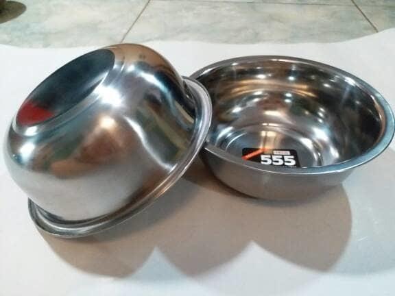 ASLI!!! Mangkok Stainless Steel 555 16,5cm - FHBCjv