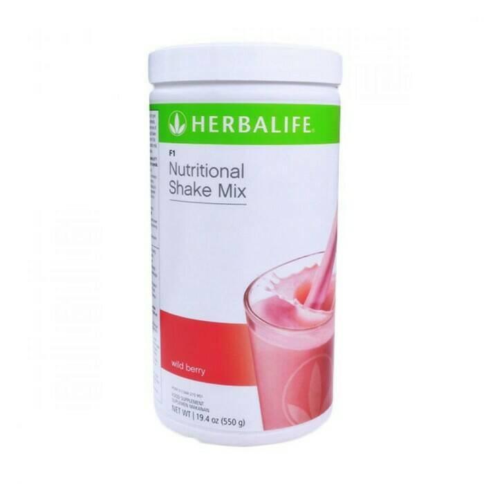 shake wild berry herbalife_#nutrisi minuman pelangsing 1kg bisa muat 2 #pelangsing