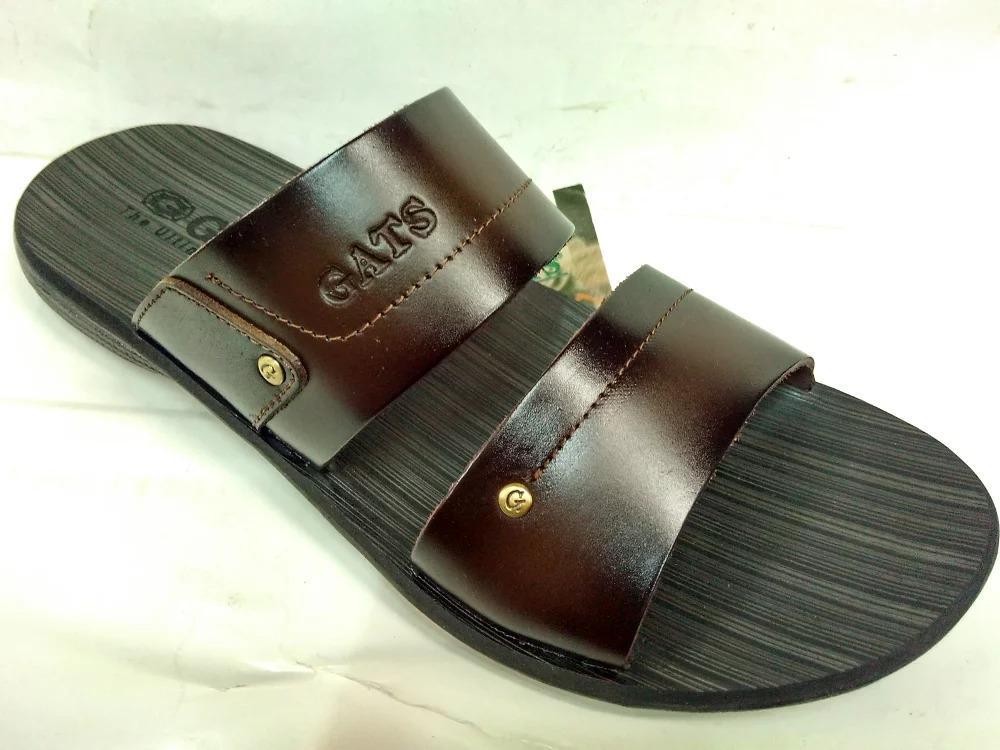 Sandal Kulit Gats SR 002 - Brown