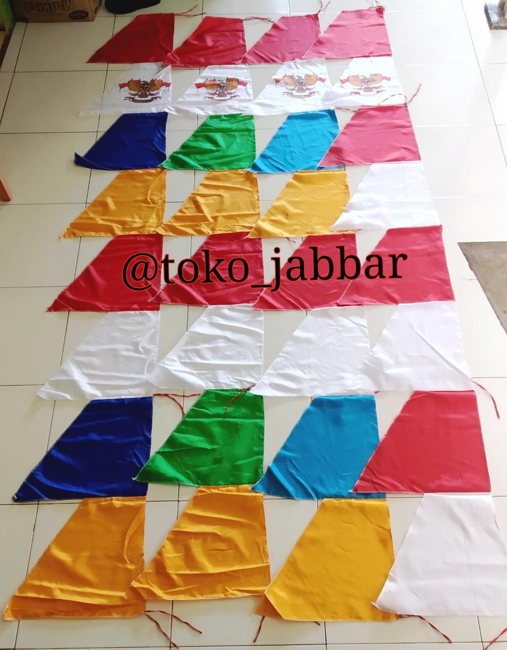 Bendera Brand Merah Putih Plastik Flag Palstik Umbul Gergaji