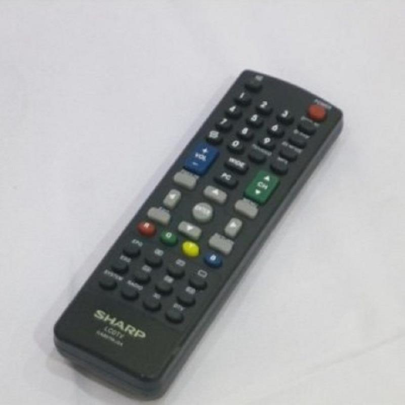 Sharp Remote TV LED,LCD 3D - Hitam