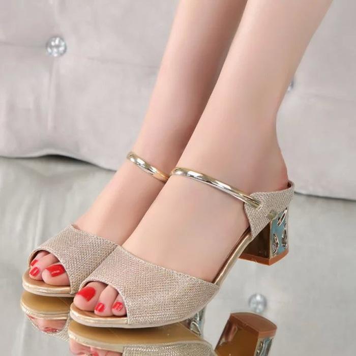 Gudang Sepatu Sepatu Wanita High Heels Suede Ghs En - Daftar Harga ... edcb08132b