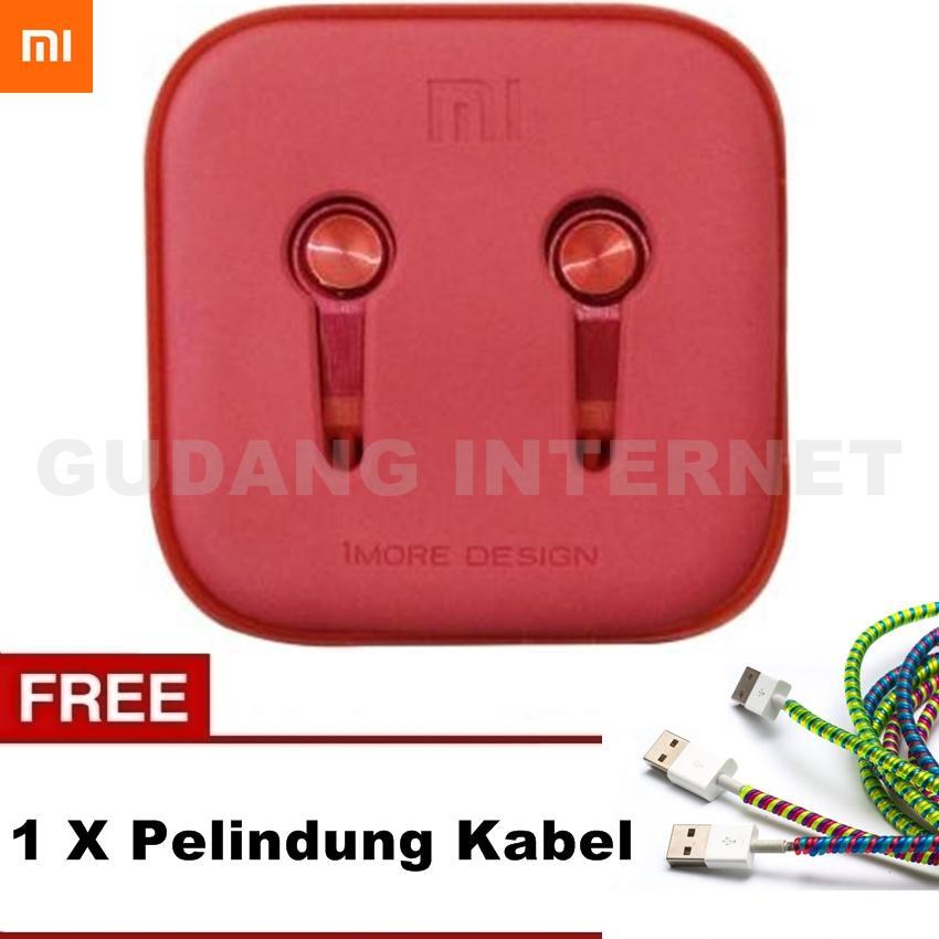 Xiaomi Earphone Piston 3 Platinum Big Bass Piston Mi 2nd Generation Handsfree/Headset - Warna