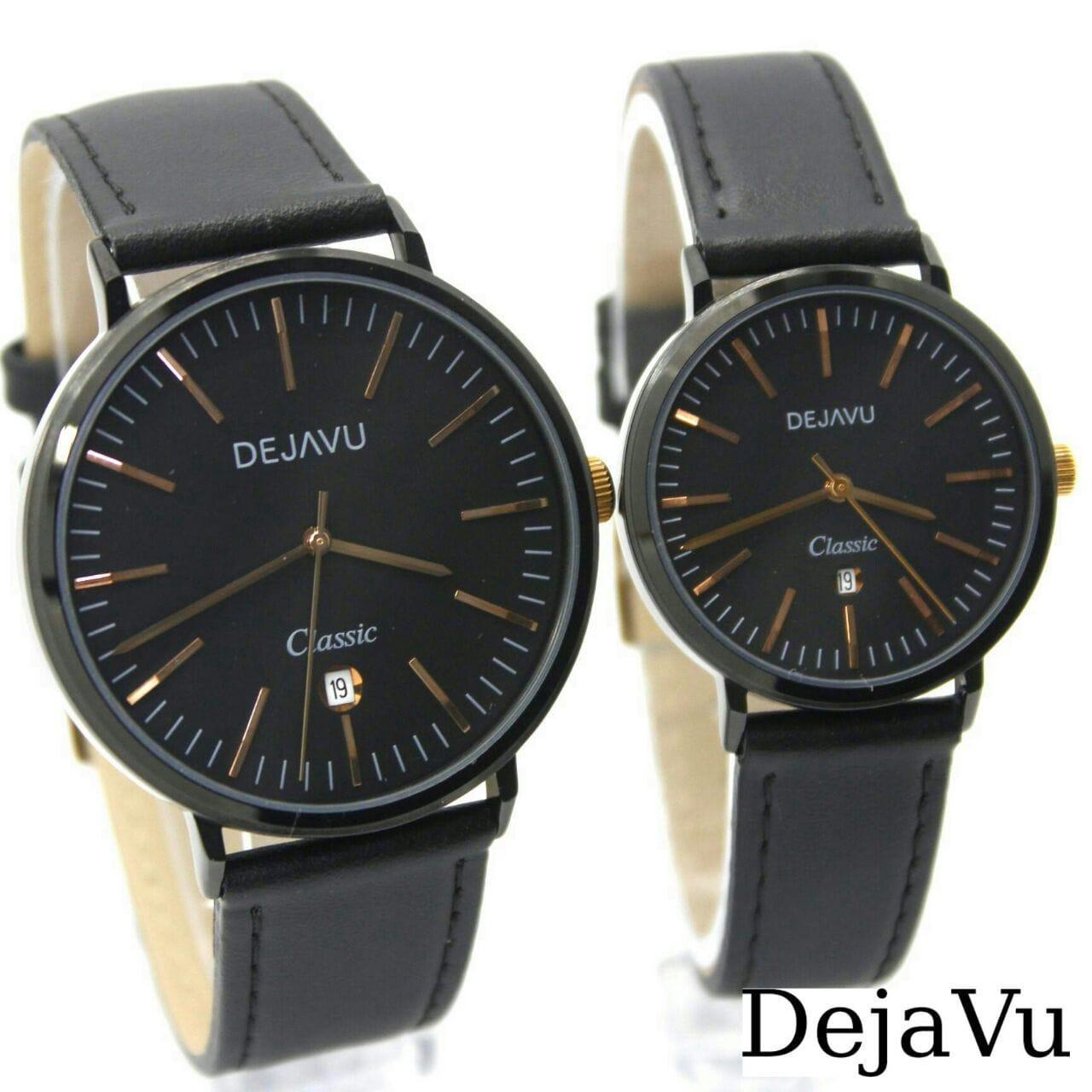 Dejavu Dj5014 Original Watch Jam Tangan Pasir Couple Stainlees Steel Aigner A59211 Aosta Wanita Gold Ring Silver Dj 5017 Kulit