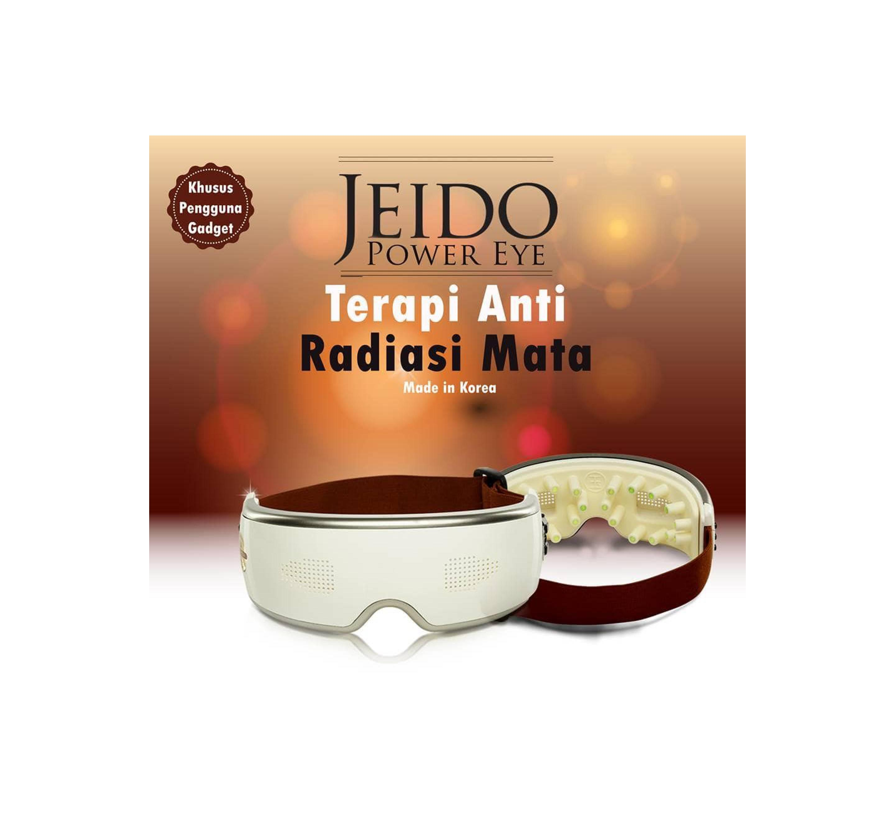 Jeido Power Eye Original Korea - Terapi Anti Radiasi Mata