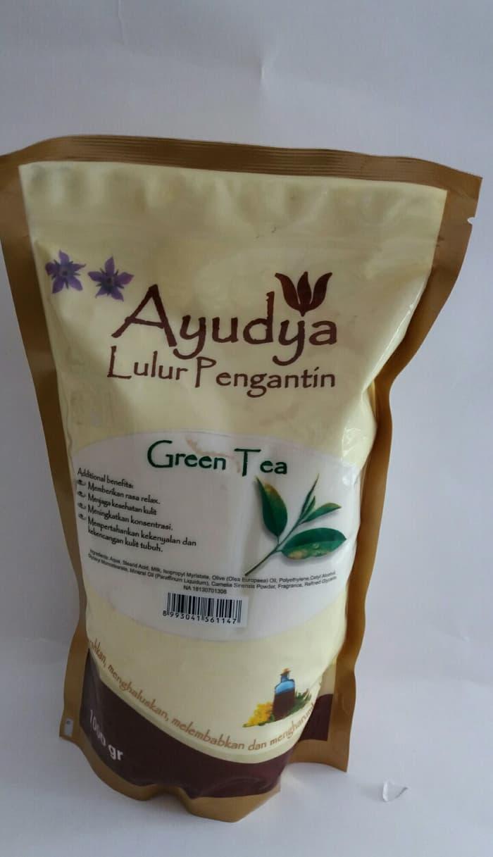 Jual Minyak Rambut Tm Pomade Paket 1 Kg 21 Pcs Green Tea Ayudya Lulur